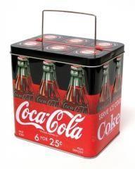 Coca Cola Bottle Carrier Tin