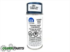 JEEP DODGE CHRYSLER RAM PBJ ATLANTIC BLUE AEROSOL TOUCH UP SPRAY PAINT NEW MOPAR #MOPAR