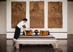 The Sukhothai Hotel - Service http://www.boutiquebangkok.com/bangkok/the-sukhothai-bangkok
