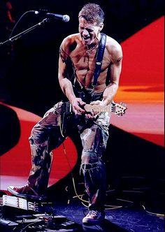 Eddie Van Halen reunion tour Circa 2007-2008