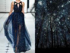 """Jason Wu S/S 2013 & notte stellata """"Silhouettes"""". Foto di Harry Finder"""