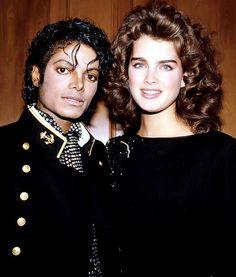 Brooke Shields & Michael Jackson. ~You Can Do It 2. www.zazzle.com/Posters?rf=238594074174686702