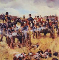 'Put every gun to them Sir, very gun.'  The Duke of Wellington - Waterloo 15 June 1815
