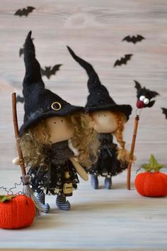 Items similar to Little Witch Una-Kitchen Witch-Handmade Doll-Textile Doll-Fabric Doll-Rag Doll-Home Decoration-Halloween Decoration-Halloween Gift on Etsy - Little Witch Una-Kitchen Witch-Handmade by BroderieLittleCorner - Halloween Doll, Cute Halloween, Halloween Gifts, Halloween Decorations, Handmade Home Decor, Handmade Toys, Kids Crafts, Tilda Toy, Doll Home
