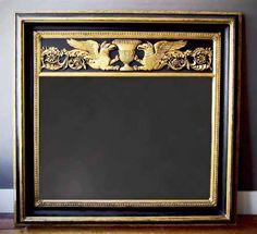 Palatial Empire Mirror America, Circa 1815