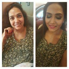 Celebmua shikhabhaimia Makeover by her #before #after# Orginal picts #shikhathemakeupartist.com