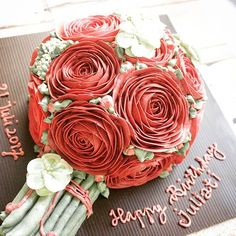 #Redrosesbouquet... the red roses are for love triumphant 😍💕🌹 .  #LADYCakeShop WA 08977560367, Bbm 2948A5C5 🌹🌸🍃 . . . . #flowercake #koreanflowercake #flowercakesurabaya #cakesurabaya #surabayacake #kueultahjakarta #cakejakarta #kueultahsurabaya #birthdaycakesurabaya #kuetartsurabaya