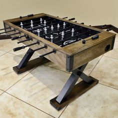 Best Foosball Table Images On Pinterest Mesas Playroom And - Highland games foosball table