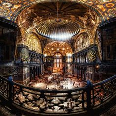 Beautiful Places...Hagia Sophia, Istanbul, Turkey, photo by George Palov.