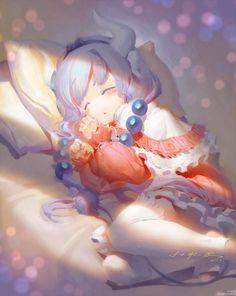 Miss Kobayashi's Dragon Maid, Dragon Girl, Loli Kawaii, Kawaii Anime, Cute Anime Pics, I Love Anime, Kobayashi San Chi No Maid Dragon, Kanna Kamui, Otaku