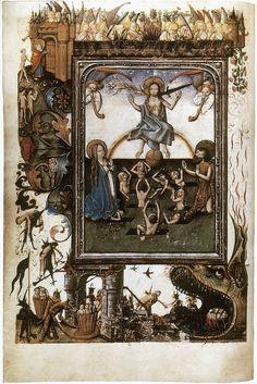 Utrecht.Book of Hours.Last judgement.(Master of Gojsbrec).1460-1465.manus by arthistory390, via Flickr