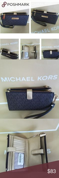 6d290825500747 Michael Kors Double Zip Wallet New With Tag PRICE IS FIRM Michael Kors Bags  Wallets