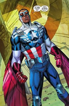 The Falcon is named as Steve Rogers replacement to be Captain America.