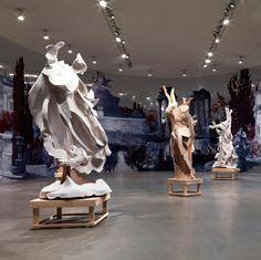 """RACHEL FEINSTEIN""  Installation view at Gagosian Rome"