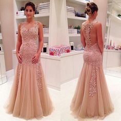 Charming Prom Dress,Mermaid prom dress,Backless prom dress,Long prom dress,evening dress,BD381