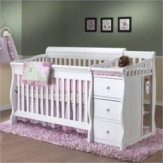 Baby Crib With Changing Table Toddler Ideas To Decorate And Organize A Nursery DigsDigs. Linea Crib Transforms Into Bed Sofa As Baby Grows Into . Foothill Convertible Crib With Toddler Bed . Home and Family Crib And Changing Table Combo, Changing Tables, Unique Cribs, Small Nurseries, Girl Nurseries, Modern Nurseries, Best Crib, Babies R Us, Convertible Crib