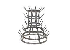 French galvanized steel herisson hedgehog by LePasseRecompose