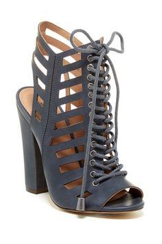 Jacinda High Heel Cutout Sandal by Michael Antonio on @HauteLook
