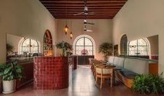 Colonial, Mexican Hacienda, Baja California Sur, Vernacular Architecture, Cafe Restaurant, Club, Decoration, Hospitality, Villa