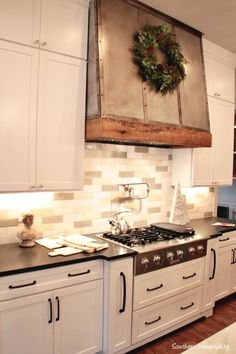 Like this vent hood in King's Chapel Parade of Homes