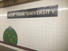 Da série: arte no metrô.