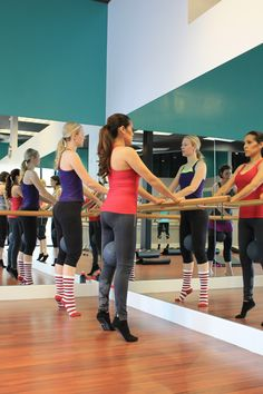 Best post-pregnancy workout! Learn more about the Xtend Barre challenge at Mychicbump.com