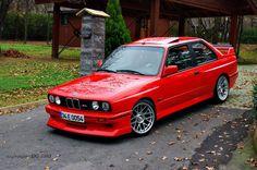 BMW E30 M3 Red Metallic