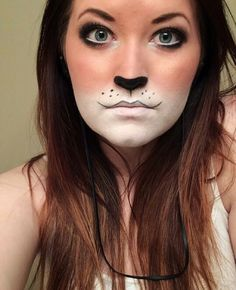 Simple, easy fox makeup