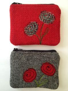 Handmade-Fabric-Coin-Purse-small-Make-up-bag-made-with-Harris-Tweed-fabric