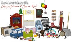 Around The Sims 4: Special: 2015 Advent Calendar Gifts 1 • Sims 4 Downloads