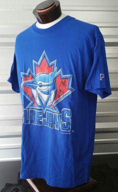 Large Vtg 90s Pro Player MLB Toronto Blue Jays Crew neck 100% Cotton Shirt USA | Sports Mem, Cards & Fan Shop, Fan Apparel & Souvenirs, Baseball-MLB | eBay!
