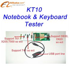 KT10 universal notebook keyboard tester 2013 Version with extra more 3 extend ports (RE:Cannot support A pple notebook) US $94.80 /piece To Buy Or See Another Product Click On This Link  http://goo.gl/EuGwiH