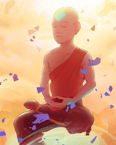 posted by jalbhenn via instagram : W.I.P/crop of an avatar Aang illustration I'm currently working on to match my Korra #avatarthelastairbender #avatar #aang #meditation #airbender #instaart #art #illustration art,avatarthelastairbender,illustration,avatar,airbender,meditation,instaart,aang