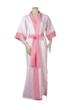 Kimono Robe Small/Med free downloadable Pattern from ConnectingThreads.com