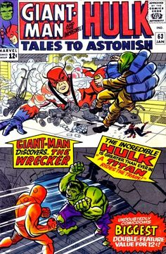 Tales to Astonish #63. Giant-Man and the Hulk.
