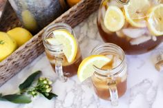 Sip this easy-to-make, refreshing wine cocktail. Mix Arnold Palmer-inspired tea, lemonade, and honey wine, and enjoy year 'round. Get the recipe. Wine Cocktails, Cocktail Recipes, Iced Tea Lemonade, Honey Wine, Arnold Palmer, Mead, King, Canning, Home Canning