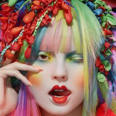"""""""Alex Box makeup with fantastic hair by Eugene model Magdalena"""""""
