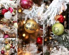 christmas-themed wedding
