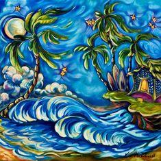 Kim McDonald, Maui Artist http://www.alohalatitudes.com