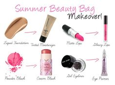 How To Makeover Your Summer Beauty Bag!