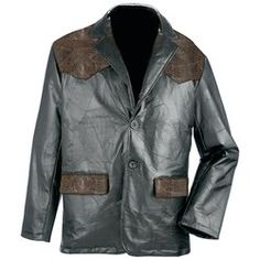 Giovanni Navarre® Western Style Hand-Sewn  Genuine Leather Sport Jacket $99.99