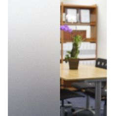 Accentuate the focal features of your window with the help of this BuyDecorativeFilm Non-Adhesive Frosted Privacy Static Cling Window Film. Home Office, Frosted Window Film, Traditional Windows, Window Privacy, Window Films, Static Cling, Through The Window, Diffused Light, Glass Shower