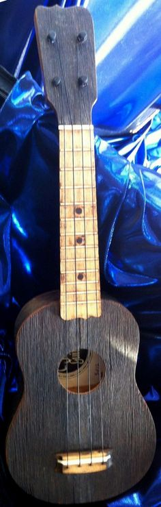 Fred Casey reclaimed wood #LardysWishlists #Ukulele ~ https://www.pinterest.com/lardyfatboy/ ~ from an old Barn