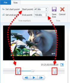 How to edit video with windows movie maker thumbnail how to edit how to edit videos in movie maker and do things like splitting trimming changing the playback speed the sound level and so on ccuart Choice Image
