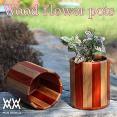 Woodworking for Mere Mortals: Free woodworking videos and plans. : Wood flower pots