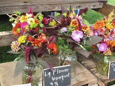 idea for farmers market flowers