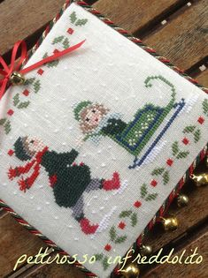 Thrilling Designing Your Own Cross Stitch Embroidery Patterns Ideas. Exhilarating Designing Your Own Cross Stitch Embroidery Patterns Ideas. Cross Stitch Christmas Ornaments, Xmas Cross Stitch, Cross Stitch Fabric, Christmas Cross, Cross Stitching, Cross Stitch Embroidery, Embroidery Patterns, Hand Embroidery, Christmas Sewing