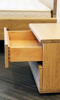 Team7 Nox Nightstand In Wild Oak Solid Wood Custom Modern Luxury