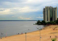 Praia da ponta negra Manaus AM