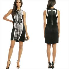 Helmut Lang Abstract Asymmetrical Dress Absolutely gorgeous dress. Creates the illusion of a slimmer figure. Used twice, in excellent condition. Helmut Lang Dresses Mini
